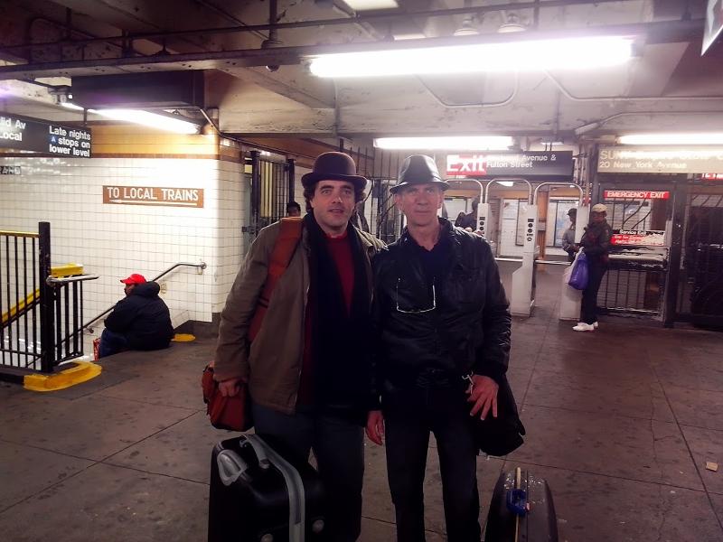 a New-York avec Carl Bouchaux