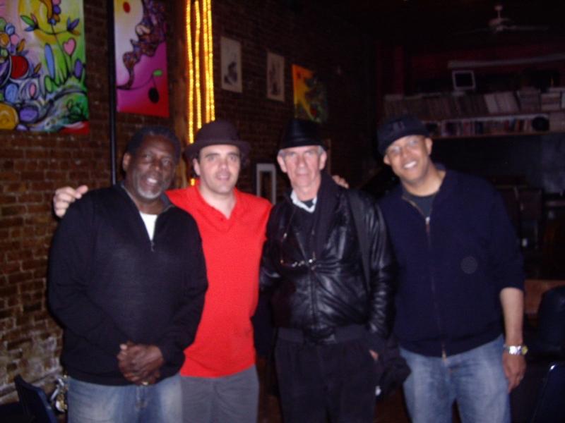 avec Gerry Eastman au WMC (Brooklyn NY)