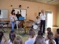 concert pédagogique dans une école